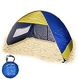 EasyGO Sun Shade Instant Pop Up Family Beach Umbrella Tent & Shelter Shack