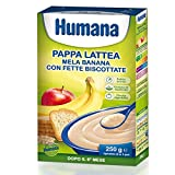 Baby Food Milky Children Apple And Banana With Rusks4 Mesi 250 G
