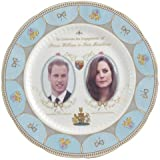 Aynsley Royal Engagement Prince William and Kate Middleton plate 20cm