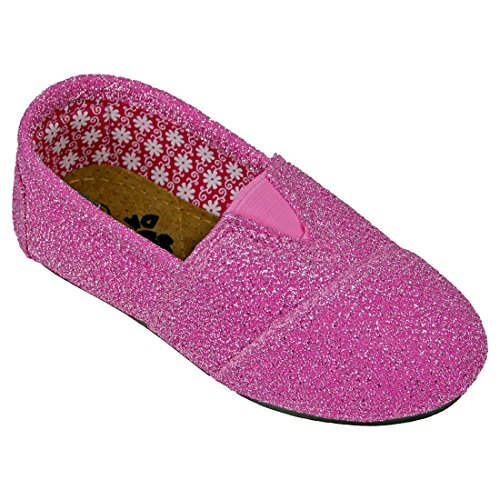 DAWGS Frost Kaymann Loafer , Hot Pink Frost, 1 M US Little