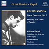 Rachmaninov : Concerto Pour Piano n° 2 ; Rhapsodie sur un thème de Paganini
