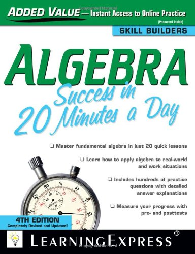 Reading Comprehension Success in 20 Minutes a Day, 4th Edition (Skill Builders)