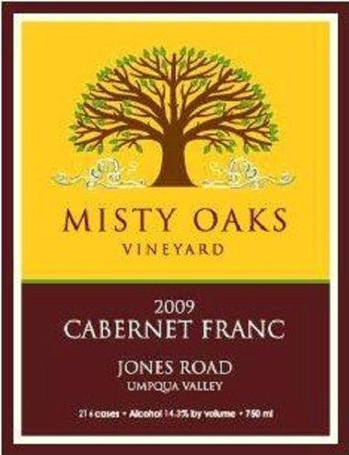 2009 Misty Oaks Jones Road Cabernet Franc Umpqua Valley 750 Ml