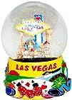 Las Vegas Glitter Snow Globe – Yellow…