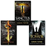 Simon Toyne Simon Toyne Sancti Trilogy Collection 3 Books Set, (Sanctus, The Key and [hardcover] The Tower)