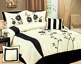 7 Piece Queen Helena Bed in a Bag Bedding Comforter Set