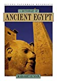 A Dictionary of Ancient Egypt (0195099893) by Bunson, Margaret
