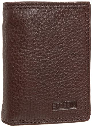 Fossil Midway Extra Capacity Tri-Fold Wallet,Brown,one size