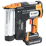 VonHaus 2 in 1 Cordless Brad Nailer & Stapler Kit - Includes 2Ah 18V Li-Ion Battery, Charger & 200 Nails/Staples