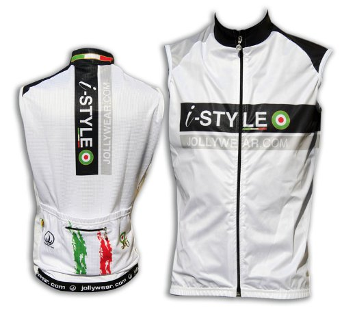 Image of Cycling windproof Gilet (ISTYLE_SILVER) (B004I9591E)