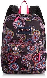 JanSport SuperBreak Backpack (Multi Fireworks)
