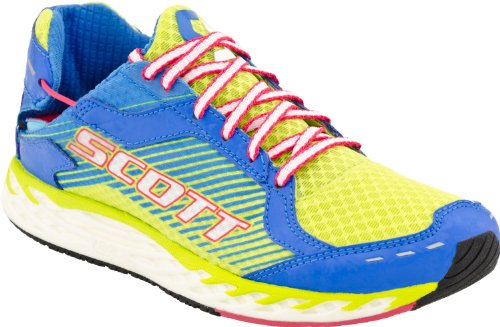 Scott Running Women's T2 Pro Evolution Running Shoe,Green/Blue,11 M US