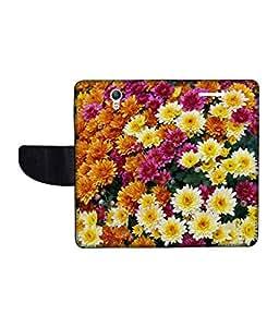 KolorEdge Printed Flip Cover For Lenovo S1 Multicolor - (1478-50KeMLogo10545LenovoS1)