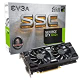 EVGA GeForce GTX 1050 Ti SSC GAMING ACX 3.0, 4GB GDDR5, DX12 OSD Support (PXOC) (04G-P4-6255-KR)