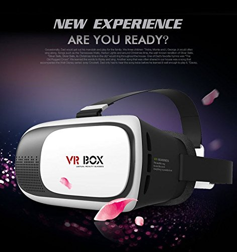 2016 New Version Cardboard VR BOX II 2.0 Version VR Virtual Reality 3D Glasses