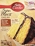 Betty Crocker Super Moist Butter Recipe Yellow Cake Mix 15.25 oz