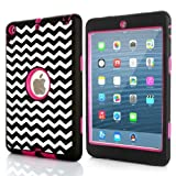 51zT2fPMfjL. SL160  Sean® Hybrid Protective Case Combo Defender Shockproof Armor Case for Ipad Mini & Ipad Mini 2 with Retina Display + 1 Pcs Smile Case