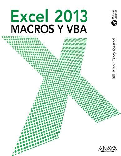 EXCEL 2013. MACROS Y VBA