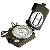 Eyeskey Military Optical Lensatic Sighting Compass Waterproof for Outdoor Activities Green