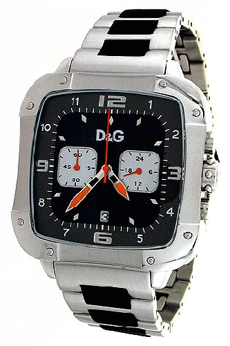 Dolce & Gabbana Watch Unisex LICENSED DW0247, Color: Silver-Coloured, Size: One Size
