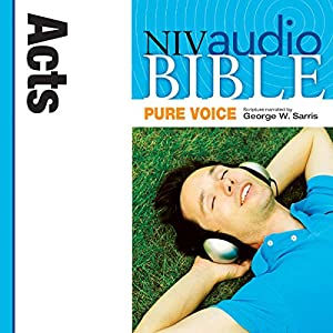 NIV Audio Bible, Pure Voice: Acts Audiobook