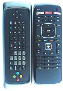 BRAND New Original VIZIO Qwerty dual side keyboard remote For VIZIO E320i-A0 M470VSE M650VSE M550VSE E420i-A1 E500i-A1 E601i-A3 E470i-A0 ---30 days warranty!