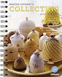 2012 Martha Stewart's Collecting Deluxe Engagement Calendar (English, German, French, Italian, Spanish and Dutch Edition)