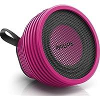 Philips SB2000P/37 Dot Wireless Portable Bluetooth Splash Proof Speaker (Pink)