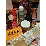 """SUSHI STARTER EINSTEIGER SET 8-TLG: Mit Wasabi-Nori-Reisessig GRATIS DAZU: 1 Bambus.Reisl�ffelvon """"Sushi"""""""