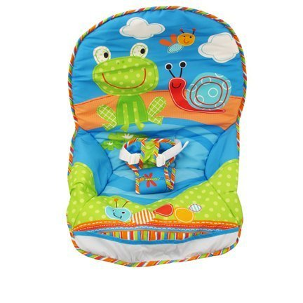 Fisher-Price Infant to Toddler Rocker - Frog/Snail Print - Replacement Pad (Lamb Fisher Price Swing compare prices)