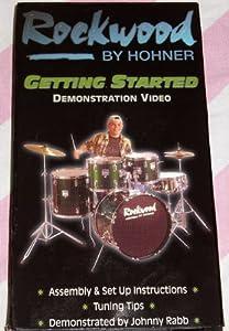 ROCKWOOD BY HOHNER: GETTING STARTED DEMONSTRATION VIDEO (AKA: ROCKWOOD DRUMS DEMO) [VHS]