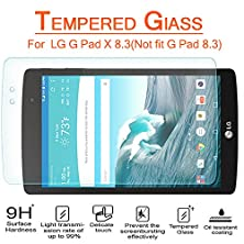 buy Anoke® Lg G Pad X8.3 (2015)Tempered Glass Screen Protectors 9H Hardness, 0.3Mm Thickness For (Lg G Pad X 8.3) Glass