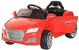 Brunte Sedan Car Red