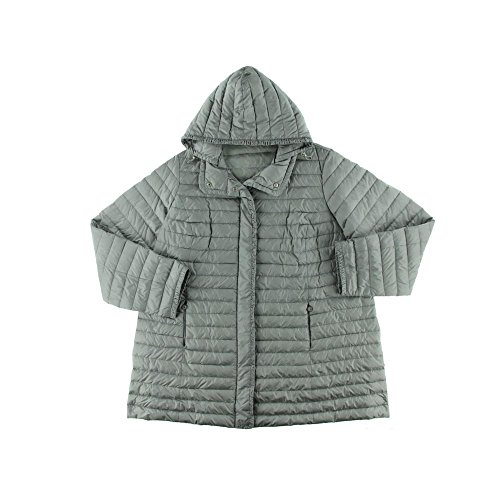 цены Marina Rinaldi by Max Mara Womens Plus Quilted Long Sleeves Coat
