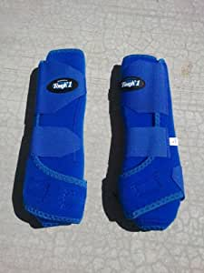 Tough 1 Extreme Vented Sport Boots - ROYAL BLUE FRONT - ALL SIZES - SMB (Small)