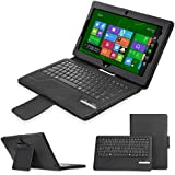 Minisuit Removable Bluetooth Keyboard Case for Lenovo ThinkPad Tablet 2 (Auto Wake/Sleep)
