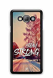 YuBingo Stay Strong Designer Mobile Case Back Cover for Samsung Galaxy A7 2016