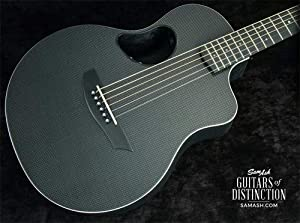 McPherson Guitars Carbon Series Touring Acoustic-Electric Guitar Gloss Top with White Binding (SN:CT904)