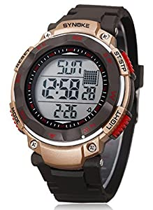 waterproof digital watches sport type high end