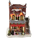 WeRChristmas-15-cm-Toy-Shop-Decoration-with-Colourful-LED-Lights