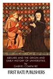 img - for Abelard and the Origin and Early History of Universities book / textbook / text book