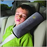 Domire Safety Child car seat belt Strap Soft Shoulder Pad Cover Cushion Gray