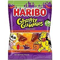 Haribo of America Ghostly Gummies 4 Oz. Bag (Pack of 12)