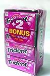 Trident Sugar Free Gum – 18 Count, Bu…