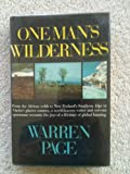 img - for One Man's Wilderness book / textbook / text book