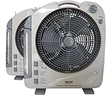 Ac Dc Rechargeable Portable Fan Radio Led Search Light