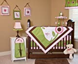 Nursery-To-Go Sophia's Garden 10 Piece Bedding Set