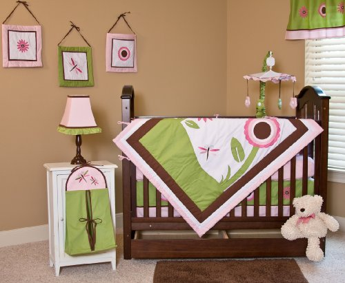 Nursery-To-Go Sophia's Garden Bedding Set
