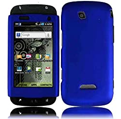 Hard Cool Blue Shell Case Cover Accessory for Samsung Sidekick 4G T839 with Free Gift Aplus Pouch
