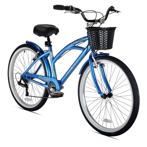 Why Should You Buy Kent Women's 15-Inch Bay Breeze 7-Speed Cruiser Bicycle, Blue